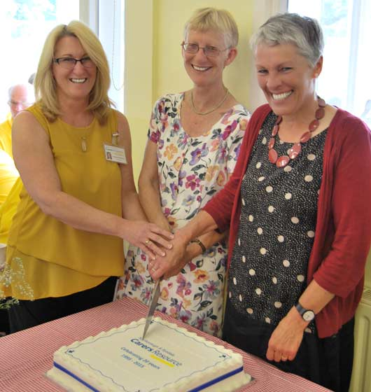 celebrating 20 years of Carers Resource