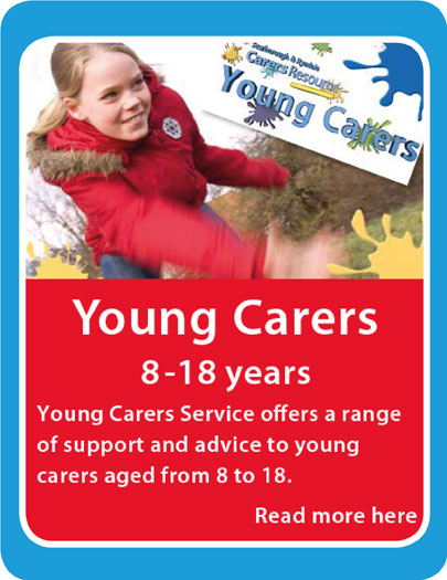 link to young carers service